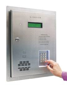 Linear Nortek Telephone Entry System